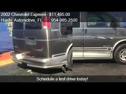 2002 Chevrolet Express 1500 CONVERSION VAN