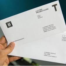 la banque postale si e fin de la lettre t à la banque postale tout un symbole