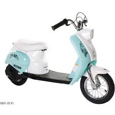 Surge Girls 24V City Scooter White Teal