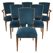 French Dining Room Sets by French Art Deco Set Of Cherrywood Dining Room Chairs At 1stdibs