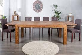 table a manger habitat table a manger extensible en bois massif sheesham kassar 200280 cm jpg