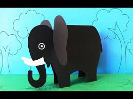 Fun Crafts For Kids How To Make A Paper Elephant