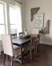 Large Wall Decor Ideas Dining Room Gray Walls On