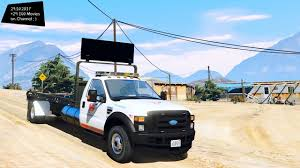 100 Gta Tow Truck 2008 Ford F550 Flatbed Grand Theft Auto V VI Future