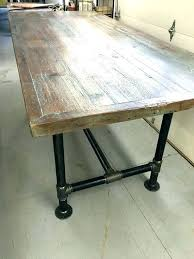 Industrial Dining Room Furniture Set Small Table Top