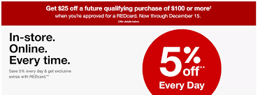 Expired] [Offer Is Back] Apply For A New Target REDcard ... Boxycharm Coupons Hello Subscription Targets Massive Oneday Gift Card Sale Is Happening This How To Apply A Discount Or Access Code Your Order Hungry Jacks Coupons December 2018 Garnet And Gold Coupon Target Toys Games Coupon 25 Off 100 Slickdealsnet 20 Off 50 Code People Stacking 15 Codes Like Crazy See Slickdeals Active Promo Codes October 2019 That Always Work Netgear Modem La Vie En Rose Booklet Canada Pizza Hut Double What Does Doubling Mean Ibotta The Krazy Lady New Day Old Navy Blog