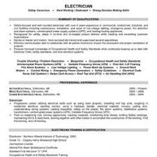 Sample Resumes For Electricians Download Electrician Resume Com 14
