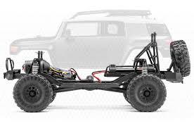 100 Fj Cruiser Truck HPI Racing Venture 110 Scale Toyota FJ RC RTR Gun