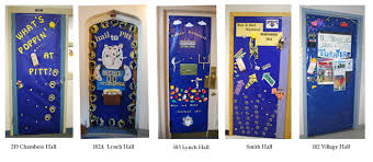 Cruise Door Decoration Ideas by Blue U0026 Gold Weekend Results University Of Pittsburgh