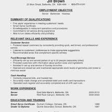 Resume Examples For Fast Food Best Of Restaurant Cashier