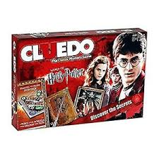Image Is Loading Harry Potter Cluedo Board Game