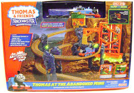 Trackmaster Tidmouth Sheds Toys R Us by Amazon Com Thomas At The Abandoned Mine Train Set Trackmaster