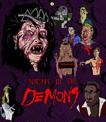 Cast Of Halloween 4 1988 by The Horrors Of Halloween Night Of The Demons 1988 Artwork Posters