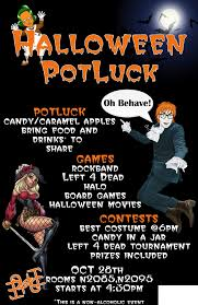 Halloween Potluck Sign In Sheet by Halloween Office Potluck Invitations U2013 Fun For Christmas