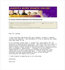 Email Cover Letter Template – 8 Free Word PDF Documents Download