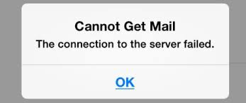 "Solved]""Cannot Get Mail – The Connection to the Server Failed"""