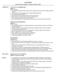 Resume Template Full Charge Bookkeeper Sample Free Career New