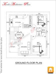 Photo Of Floor Plan For 2000 Sq Ft House Ideas by 1600 Square Four Bed Room House Plan Architecture Kerala