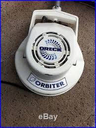 Used Oreck Floor Scrubber by Oreck Orbiter Floor Scrubber Polisher W Some Pads Floor Buffer Pads