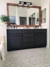 Diy Industrial Bathroom Mirror by Industrial Farmhouse Bathroom Reveal Industrial Farmhouse