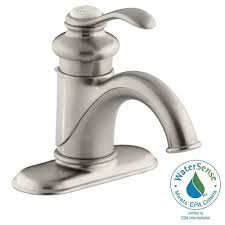 Kohler Devonshire Faucet Brushed Nickel by Kohler Fairfax Single Hole Single Handle Low Arc Water Saving