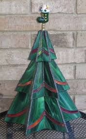 Items Similar To Stained Glass Three Tier Christmas Tree Pattern On Etsy