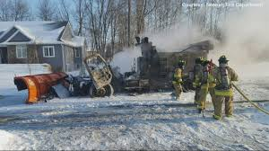 100 Plow For Truck In Neenah Destroyed In Fire