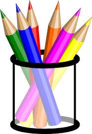 Colored Pencils In Cup Clip Art at Clker vector clip art