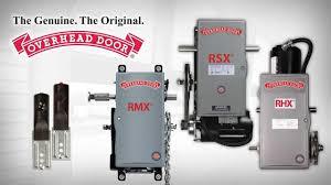 Reversing Device Set Up on Overhead Door mercial Door Operator