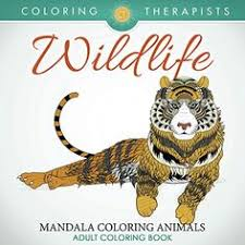 Wildlife Mandala Coloring Animals Adult Book IMPORTANT EBOOK Edition Of This Is An