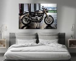 motorrad bilder auf leinwand als poster und kunstdruck