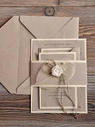 Recycling Eco Wedding Invitation