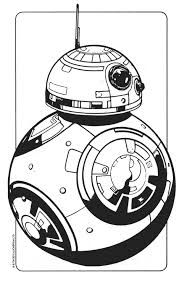 Star Wars Coloring Page Bb8 Droid