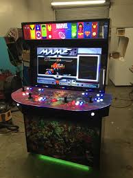 4 Player Arcade Cabinet Dimensions by Advanced Arcade 4 Player 40