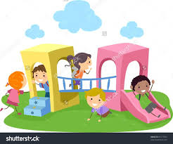 28 Collection Of Kids Playing Outside Clipart High Quality Free Children Park
