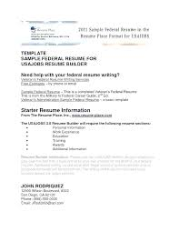 Example Military Resume Experience On Templates Retail Industry Template