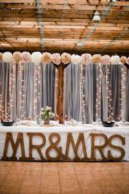 Rustic Indoor Wedding Ideas 12