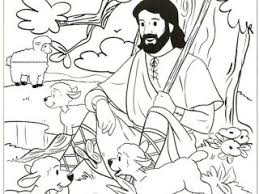 Jesus The Good Shepherd Coloring Pages 36 Best