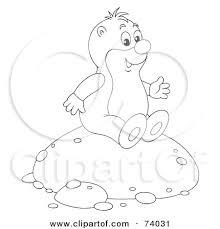 Royalty Free RF Gopher Clipart Illustrations Vector Graphics 1