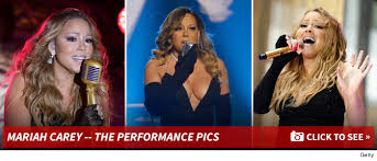 Nbc Christmas Tree Lighting 2014 Mariah Carey by Mariah Carey She Did It Live Finally Tmz Com
