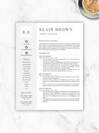 100 Free Professional Resume Templates Template Template Etsy