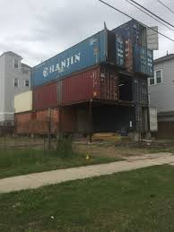 100 Shipping Container Home How To House Of 11 Stacked S On McGowen Now Awaiting