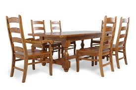 Seven Piece Dining Room Set by Mb Home Switzer Trestle Seven Piece Dining Set Mathis Brothers