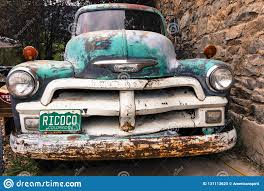 100 Truck License Old Chevy Pickup With Custom Colorado Plate Saying