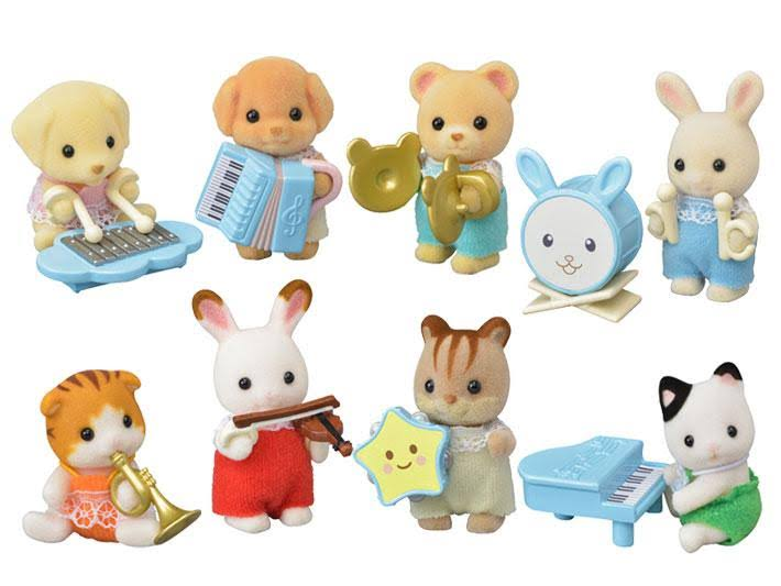Calico Critters Baby Band Series Blind Bag