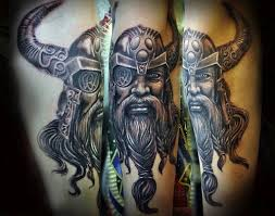 Thor Tattoo Vikings Are Some Of The Coolest And Most Interesting Figures In History Still Having A Cultural Impact Today Norse Mythology Inspired