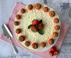 erdbeer mascapone torte mit holunder langsam kocht besser