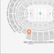 Madison Square Garden Section 222 Seat View