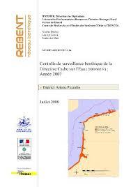 contrôle de surveillance benthique de la directive cadre sur l eau