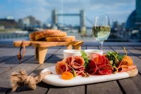 cocktails and canapes hms belfast rooftop cocktails and canapes for groups travel
